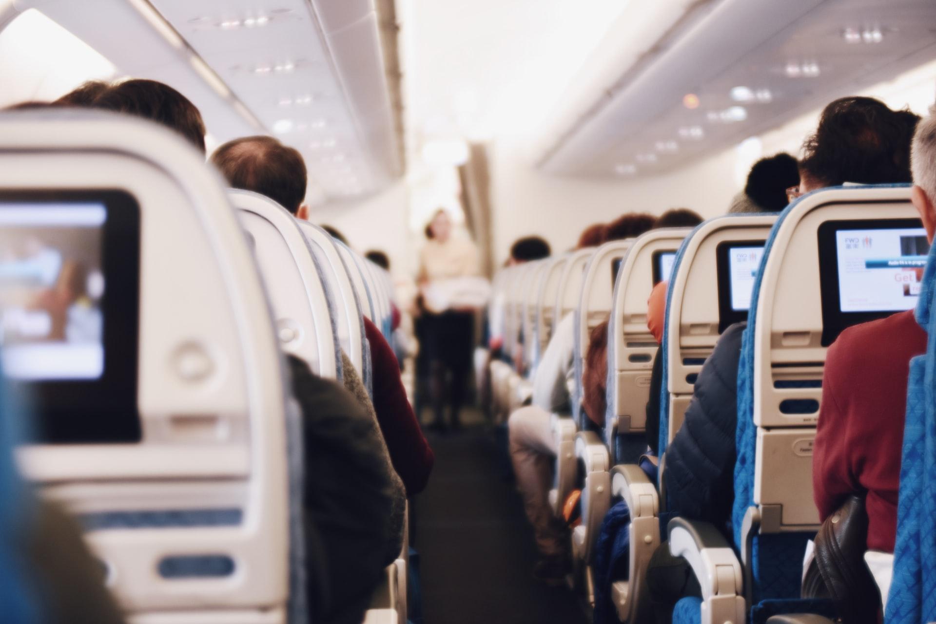 Contagio en un avión